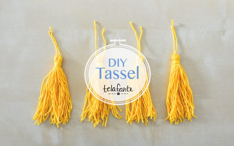 photo of yellow tassels